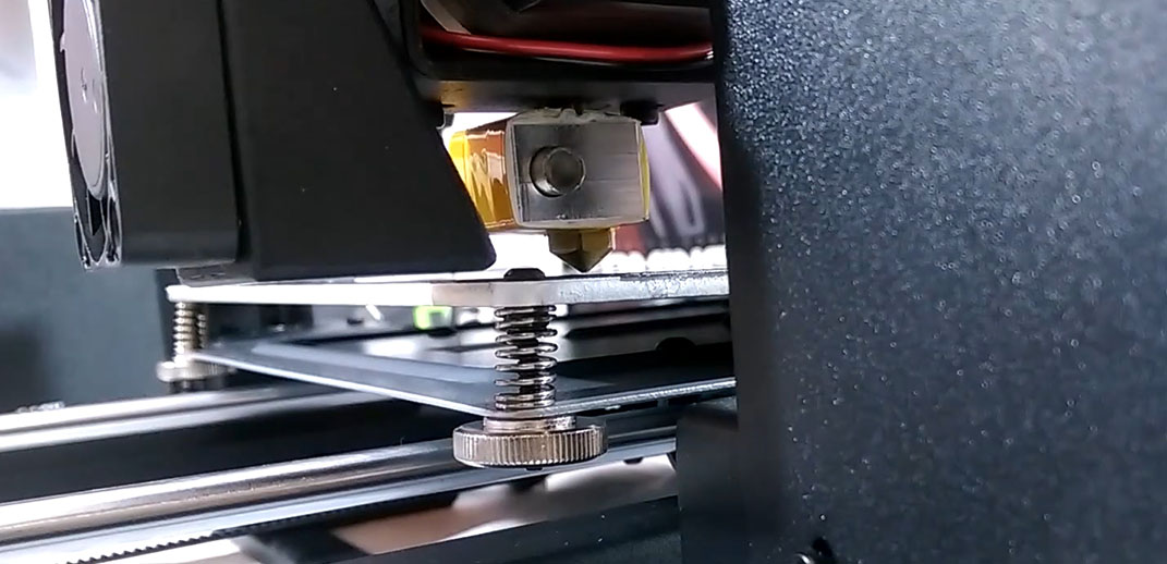 monoprice maker select nozzle gap
