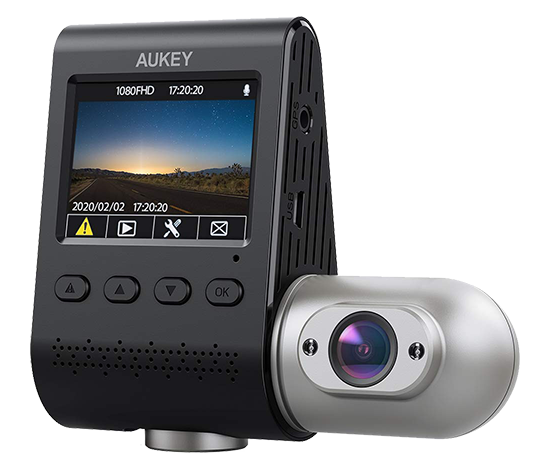 AUKEY DRS2 Dual Camera Dashcam