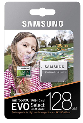 Samsung EVO Select micro-SD card