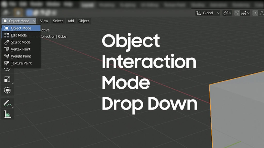 object interaction mode