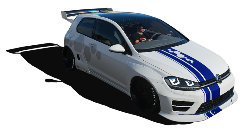 VW gti race car