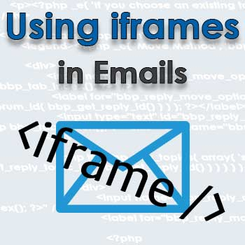iframe and emails